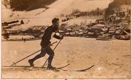 Skieur Au Monestier De Clermont. - Autres Communes