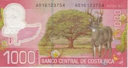 BILLETE DE COSTA RICA DE 1000 COLONES AÑO 2009  (BANKNOTE) CIERVO-DEER - Costa Rica