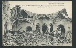 La France Reconquise ( 1917 ) Roye - Ruines De L'église , Intérieur De La Nef   - Zbb35 - Guerre 1914-18