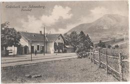 Grünbach Am Schneeberg Bahnhof - & Railway Station - Österreich