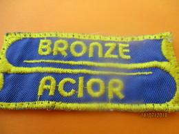 Ecusson Tissu D'entreprise/ BRONZE ACIOR/ Eure/ Années 80       ET202 - Ecussons Tissu