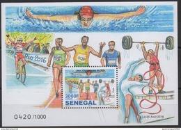 OFFER !! Sénégal 2016 Jeux Olympiques Olympic Games Olympia Rio De Janeiro Limited 1000 Blocs ! ** - Verano 2016: Rio De Janeiro
