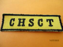 Ecusson Tissu D'entreprise/CHSCT / BRONZE ACIOR/ Eure/ Années 80       ET203 - Ecussons Tissu