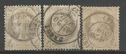LOT CERES N° 52 OBL TOUT ETAT - 1871-1875 Cérès