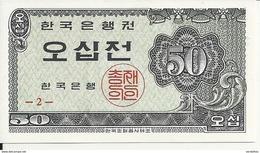 COREE DU SUD 50 JEON 1962 UNC P 29 - Corée Du Sud