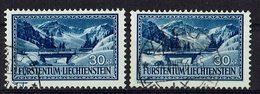 Liechtenstein 1934 // Mi. 132 O 2x - Liechtenstein