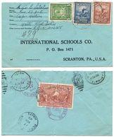Haiti 1949 Registered Airmail Cover Cap-Haitien To U.S. W/ Scott 374, 376, 380, RA9 - Haiti