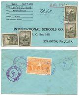 Haiti 1950 Registered Airmail Cover Port-de-Paix To U.S. W/ Scott 373 X4, RA15 - Haiti