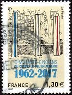 France Oblitération Cachet à Date N° 5133 - Cessez Le Feu En Algérie - Oblitérés