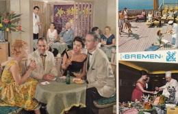 "TS ""Bremen"",Life On Board,Eignerkarte,gelaufen - Dampfer"