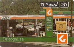 TLP Card - Galp Gas Station - Portugal - Portugal