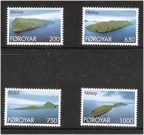 Faroe Islands  2000 Islands, Skúvoy, Hestoy,  Koltur And  Nolso  Mi  381-384, MNH(**) - Féroé (Iles)