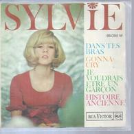 """45 Tours EP -  SYLVIE VARTAN - RCA 86084 -  """" DANS TES BRAS """" + 3 ( Sans Les Rebords Au Dos, Introuvable ) - Other - French Music"""