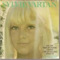 "45 Tours EP -  SYLVIE VARTAN - RCA 86181 -  "" BALLADE POUR UN SOURIRE "" + 3 - Other - French Music"