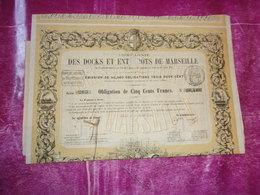 COMPAGNIE DES DOCKS ET ENTREPOTS DE MARSEILLE (1860) - Shareholdings