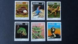 BUZIN - Zaïre : Timbres Numéro 1317/22  état Neuf - Zaïre