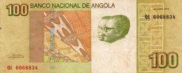 Angola Belhete  De 100 Kwanzas 2012 - Angola