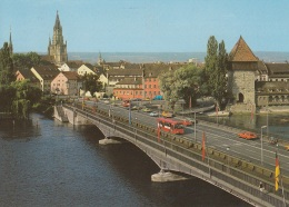VW K 70,Golf,Bus T2,Ford Granada,Opel Ascona,Mercedes Bahnbus,Konstanz,gelaufen - PKW