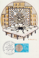 Carte Maximum  1er  Jour   FRANCE   MICRO - ELECTRONIQUE     MEYLAN    1981 - Cartes-Maximum