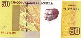 Angola Belhete  De 50 Kwanzas 2012 - Angola