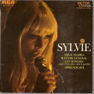 "45 Tours EP -  SYLVIE VARTAN - RCA 87101 -  "" ABRACADABRA "" + 3 ( "" LES HOMMES "" Avec Johnny HALLYDAY ) - Other - French Music"