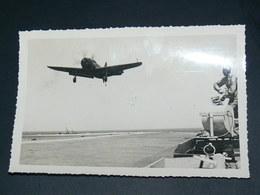 """PORTE AVIONS  """"ARROMANCHES"""" 1943 A 1949  """"APPONTAGE"""" PHOTO ORIGINALE FORMAT 15X10 CM - War, Military"""