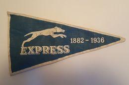 Express 1882 - 1936 - Fanion Militaire - Bataillon Ou Régiment Dissous? - Militaria