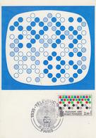 Carte  Maximum  1er  Jour    FRANCE   TELEVISION    1985 - Cartes-Maximum