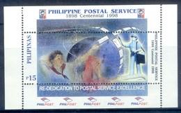 K8- Filippine Philippines Philippinen Filipinas 1998 Philippine Postal Service Centenary. - Philippines