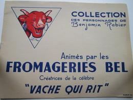 LA VACHE QUI RIT - Collection Des Personnages De Benjamin Rabier - Album N°1 (vide) - Other
