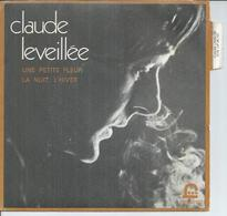"45 Tours SP - CLAUDE LEVEILLEE  - EKO 80102  "" UNE PETITE FLEUR "" + 1 - Other - French Music"
