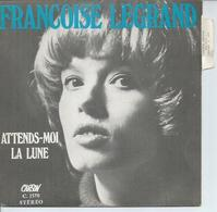"""45 Tours SP - FRANCOISE LEGRAND  - CARSON 1570  """" ATTENDS-MOI """" + 1 - Other - French Music"""
