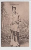 Burmese Lady - Myanmar (Burma)