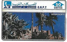 @+ Maroc - Ouarzazate ONPT - 50U. (204B) - Ref : ONPT-14 - Morocco