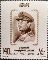 Egypt  1977 Pres.Anwar Sadat - Unused Stamps