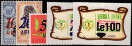 Sierra Leone 1971 Air Set Unmounted Mint. - Sierra Leone (1961-...)