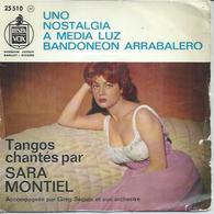 "45 Tours EP - SARA MONTIEL  - HISPAVOX 25510  "" UNO "" +  3 - Vinyl Records"
