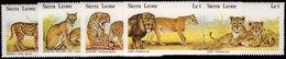 Sierra Leone 1981 Wild Cats Unmounted Mint. - Sierra Leone (1961-...)