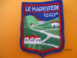 Ecusson Tissu Ancien à Coudre/Station Le MARKSTEIN/ Vosges/  Années 1970-1980                ET234 - Ecussons Tissu