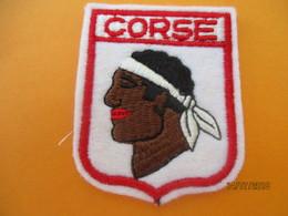 Ecusson Tissu Ancien à Coudre/France / CORSE //  Années 1970-1980                ET237 - Ecussons Tissu
