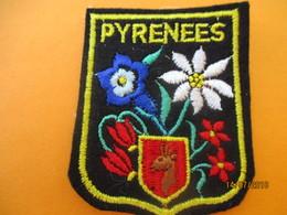 Ecusson Tissu Ancien à Coudre/France /Région PYRENEES //  Années 1970-1980                ET238 - Ecussons Tissu