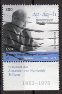 Germania 2001 Sc. 2142 Werner Karl Heisenberg Nobel Fisica Germany Used - Nobel Prize Laureates
