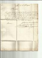 ( Hérault ) Sette MP Du 11/09/1778 - Marcofilie (Brieven)