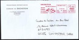 France Molsheim 2006 / Commune De Dachstein / History Place / Machine Stamp / EMA - Marcophilie (Lettres)