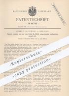 Original Patent - Robert Latowski , Breslau , 1888 , Fallwerk , Fallhammer Per Kraftmaschine | Gas , Dampf | Motor !!! - Documenti Storici