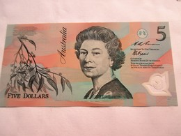 Australië 5 Dollars  1992 - 1992-2001 (polymère)