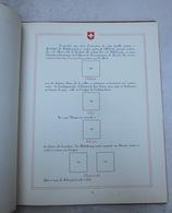 Album Vide De Timbres - Histoire De La Suisse - Albums & Bindwerk