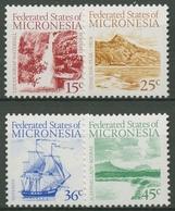 Mikronesien 1988 Liduduhniap-Wasserfall 89/92 A Postfrisch - Mikronesien