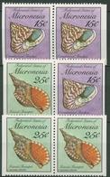 Mikronesien 1989 Meeresschnecken Und -muscheln 144 + 146 D/D Postfrisch - Mikronesien