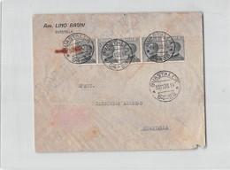 15025  GUASTALLA AVVOCATO BAGNI - IL FRANCOBOLLO DI SINISTRA E BUCATO - 1900-44 Victor Emmanuel III